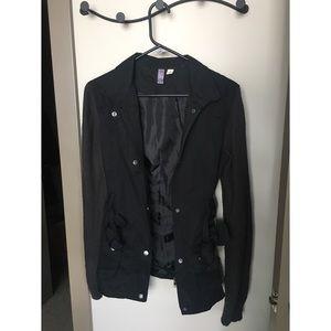 Super cute black/ gray jacket from Francesca's!